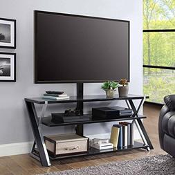 Whalen Furniture 3-in-1 Tv Stand for Tvs up to 70""