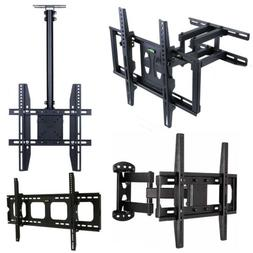 "22-80"" LED Full Motion TV Wall Mount VESA Bracket Tabletop S"