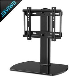 """27""""-37"""" Universal TV Stand With Metal Swivel Mount tv Safety"""