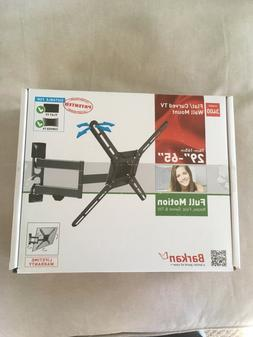 Barkan 3400 Full Motion Curved/Flat TV Wall Mount For 29''-6