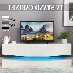 59 47 floating led tv stand wall