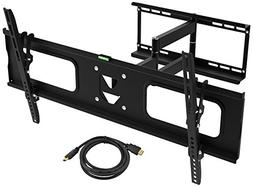 Ematic Full Motion Wall Mount Kit for 19 - 80-Inch TV's with