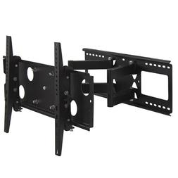 MegaMounts Full Motion Double Articulating Wall Mount for 32