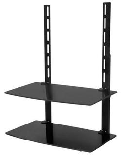Mount-It! TV Wall Mount Shelf For Cable Box, DVD Player, AV