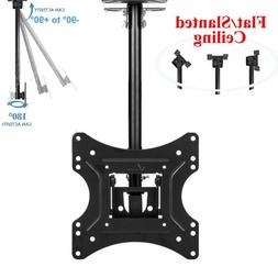 SUNYDEAL-TILT Ceiling TV Wall Mount VESA Bracket 18 20 22 24