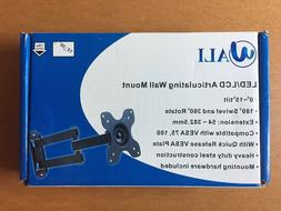 WALI Articulating TV LCD Monitor Wall Mount Full Motion 1330