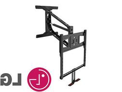 """Above Fireplace Pull Down Full Motion LG TV Wall Mount 40"""" 5"""