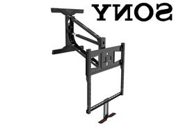 """Above Fireplace Pull Down Full Motion Sony TV Wall Mount 43"""""""