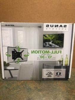 "Sanus Accents Full-Motion TV Wall Mount fits 13""-30"" holds 3"