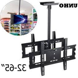 Adjustable Ceiling TV Mount Double Side Dual LED LCD TV Moun