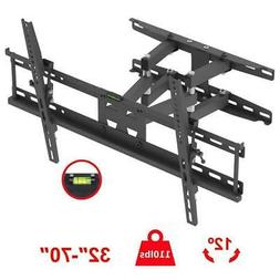 articulating full motion tv wall mount bracket