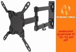 "Articulating Tilt Swivel HD TV Wall Mount 19 22 28 32"" LED L"