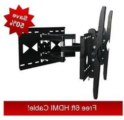 Sony Bravia KDL-40S504 Compatible Dual-Arm Articulating Wall