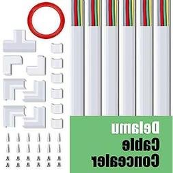 """Cable Management for Wall Mount TV, 94.5"""" Cable Concealer"""