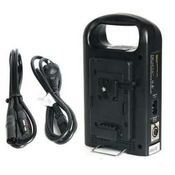 Came-TV 2 Channel V-Mount Battery Charger and Power Adapter