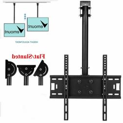 Ceiling TV Mount Bracket Tilt Swivel LED LCD Plasma 30 32 37
