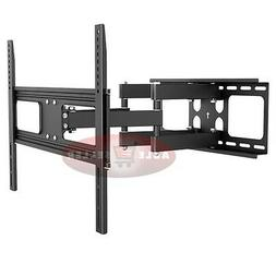 DUAL ARM ARTICULATING LCD LED PLASMA TV WALL MOUNT BRACKET 4