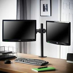 VonHaus Dual Arm Monitor Desk Stand Mount Full Motion For 2