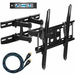 "Dual Articulating Arm TV Wall Mount Bracket for 20-65"" TVs"