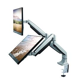 TechOrbits Dual Monitor Mount Stand - SmartSWIVEL - Dual Com