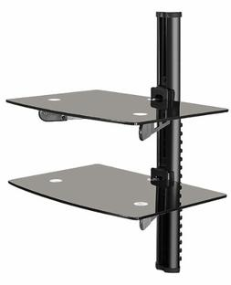 OSD Audio DVD-Shelf-3B Dual Shelf Wall Mount for DVD and Oth