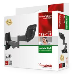 "Barkan E140 Full Motion Curved/Flat TV Wall Mount for 13"" -"