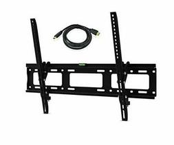 "Flat TV Wall Mount Kit with HDMI Cable Tilt For Lcd 30""- 79"""