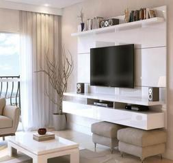 floating entertainment center wall unit tv stand