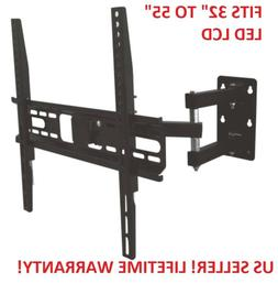 Full Motion Articulating TV LCD LED Corner Wall Mount 32 42