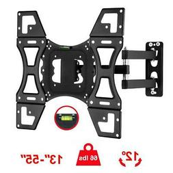 full motion tv wall mount bracket tilt
