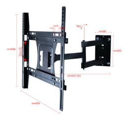 UNHO Full Motion TV Wall Mount Bracket Vertical Base Mount F