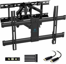 PERLESMITH Full Motion TV Wall Mount for Most 37-70 Inch TVs