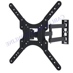 Full Motion Vesa Tv Wall Mount Bracket Tilt Swivel 32 39 40