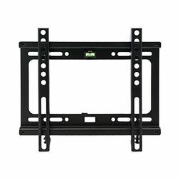 MegaMounts GMPF22 Fixed TV Wall Mount with Bubble Level for
