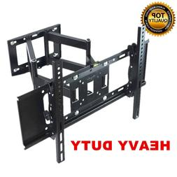 Heavy Duty Dual Arm Full Motion TV Wall Mount Tilt & Swivel
