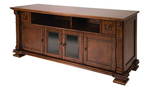 """Bell'O PR36 67"""" TV Stand for TVs up to 75"""", Mocha"""