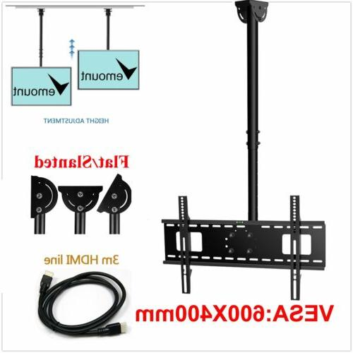 "Ceiling Mount Bracket Height Flat Screen 70"" 80"""