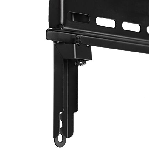 """Cheetah Mounts Swivel Black Mount 32"""" to 75"""" Screen 15' Twisted HDMI Cable"""