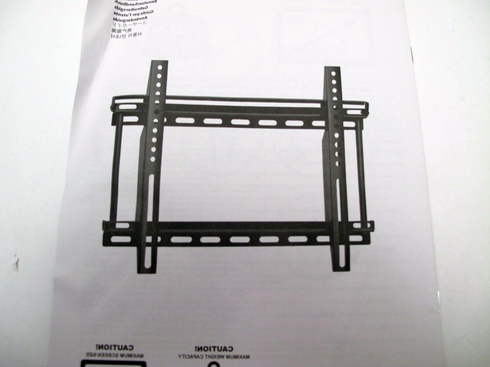 ERGOTRON - Wall Mount For TV/Flat Panel Monitor - Up to 42""