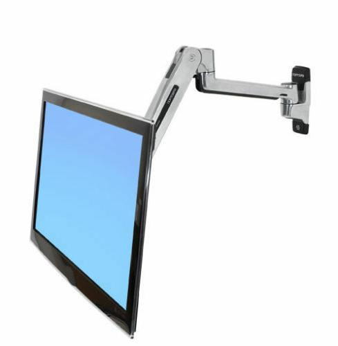 Ergotron 45-353-026 Lx Sit-stand Wall Mount Lcd Arm mount