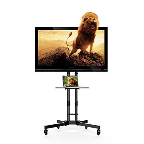 FLEXIMOUNTS C06 Mobile TV Cart Stand for 32''-65'' LCD LED P
