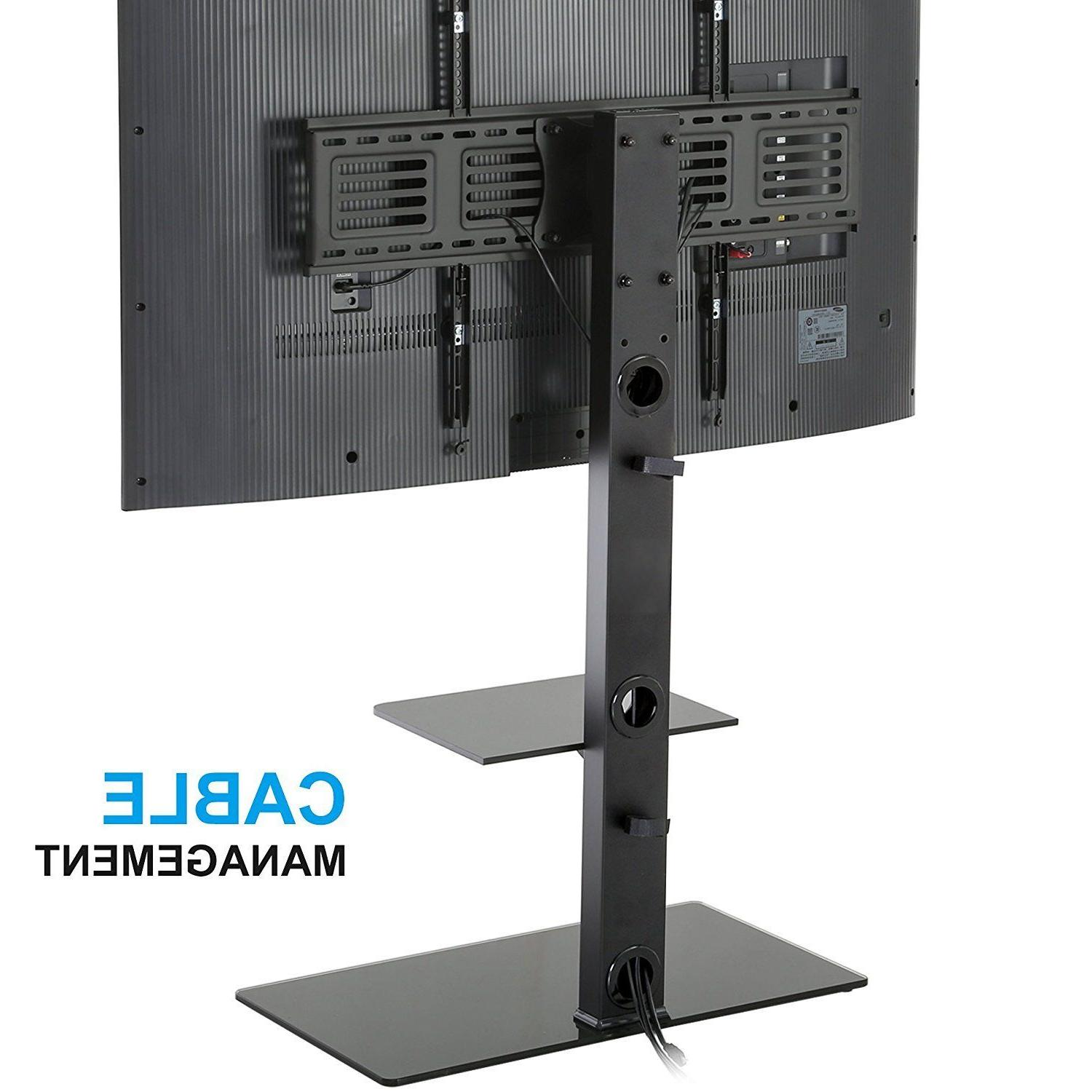 "Fitueyes TV Stand With 50-80"" LG Screen"