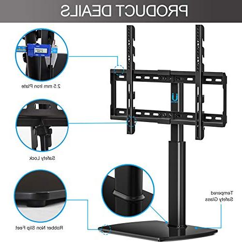 Fitueyes Universal TV Base with Wall Mount for 32 Flat screen Tvs/xbox
