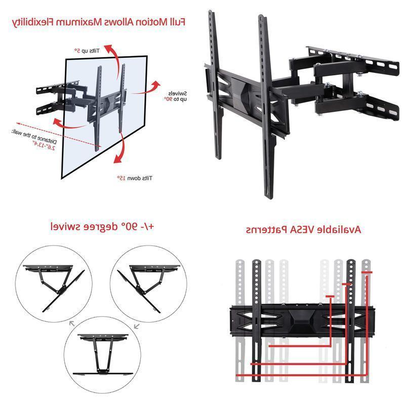 """Fleximounts A22 TV Wall Mount for Most 32""""-60"""" LED LCD Plasm"""
