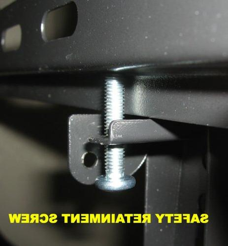Impact Lcd Plasma Flat Tv Wall Mount 32 47 50 52 60 65 80. Solid Piece and Verticals. Lockable With Security