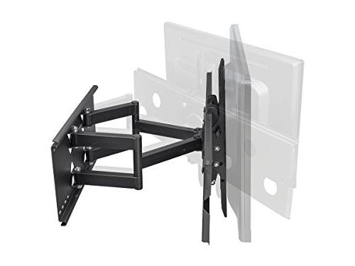Monoprice Articulating TV Bracket TVs to 60in Weight 175 Extension of VESA Up Works with Brick
