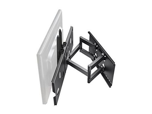 Monoprice Titan Series Full-Motion Articulating Bracket for TVs 175 lbs Range of 5.0in to 20.0in VESA Works with Brick