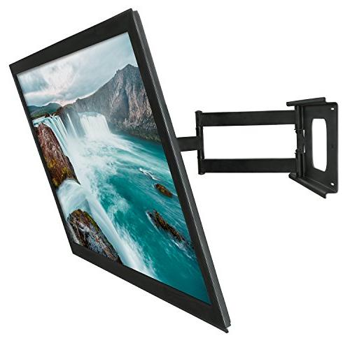 "Mount-It! for 32-70"" LCD Flat up to 100 Pounds 600x400 VESA, Extend,"