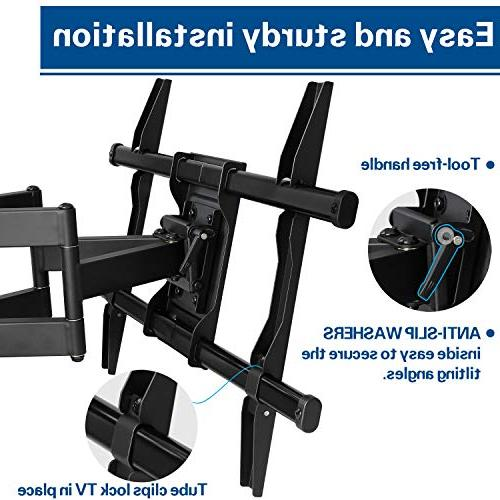 Mounting Full TV Wall Mount Bracket for LED, LCD OLED Screen TV, Mount up x 400mm LBS