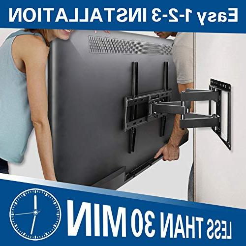 Mounting Mount Most Inch Flat Screen TV/ Full Motion TV Mount Articulating Dual Arms, Max 400x400mm, LBS MD2380